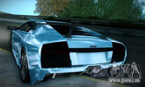 Lamborghini Murcielago GT Coloured für GTA San Andreas Seitenansicht