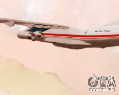 Iljuschin Il-76td für GTA San Andreas Rückansicht