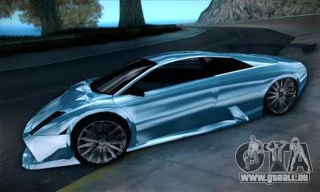 Lamborghini Murcielago GT Coloured für GTA San Andreas Rückansicht