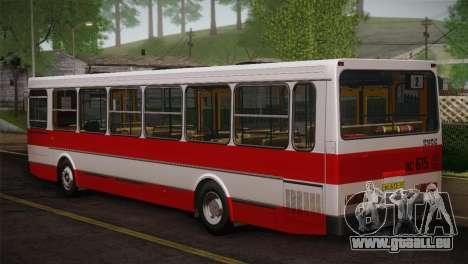 LIAZ peau 5256.00 3-Pack pour GTA San Andreas vue arrière