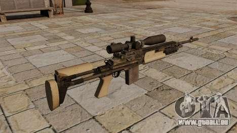 Fusil de sniper M14 pour GTA 4 secondes d'écran