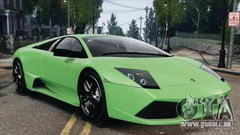 Lamborghini Murcielago LP640 2007 [EPM] pour GTA 4