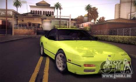 Nissan 240SX 1991 Tunnable pour GTA San Andreas salon