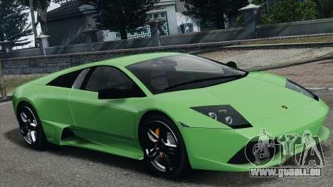 Lamborghini Murcielago LP640 2007 [EPM] pour GTA 4 roues