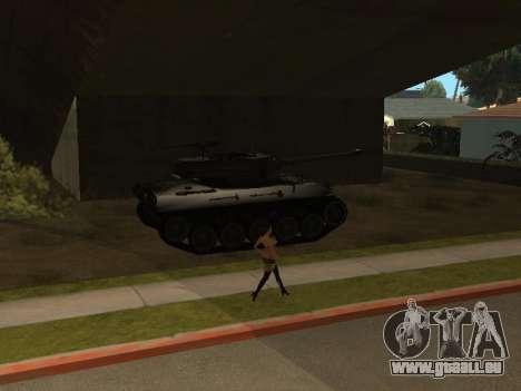 M18-Hellcat für GTA San Andreas Seitenansicht