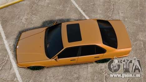 BMW M5 1995 für GTA 4 rechte Ansicht