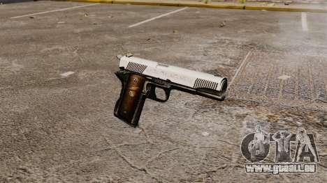 Pistole Colt M1911 Ritter für GTA 4