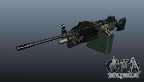 Aktualisierte M249 Maschinengewehr für GTA 4