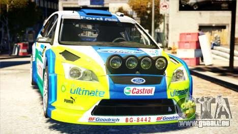 Ford Focus RS M Gronholm Rally Finland WRC pour GTA 4