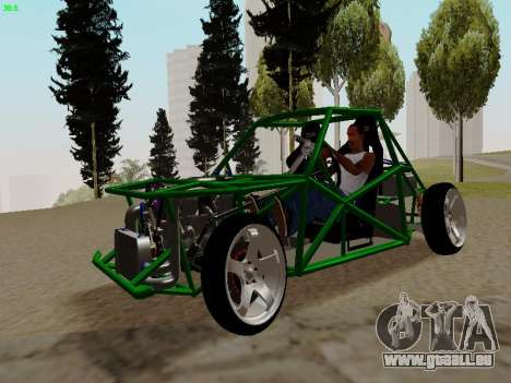 Nocturnal Motorsports Coyote pour GTA San Andreas
