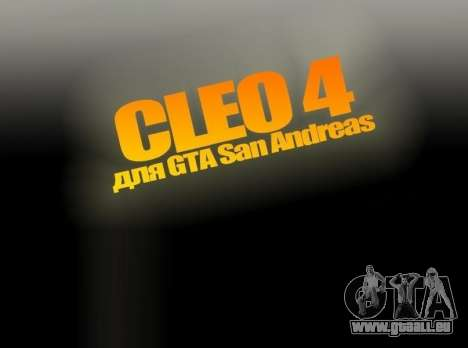 CLEO 4.3.10 für GTA San Andreas