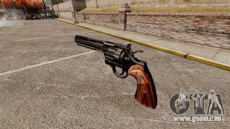 Colt Python Revolver für GTA 4 Sekunden Bildschirm