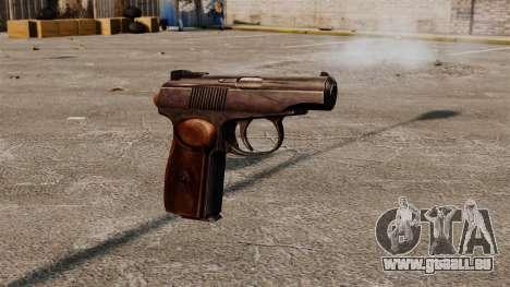 Ladewagen Pistole Makarowa für GTA 4