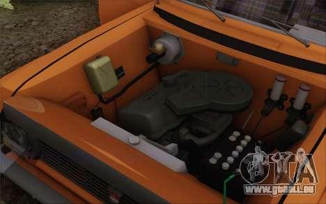 Moskvitch 412 pour GTA San Andreas vue de côté