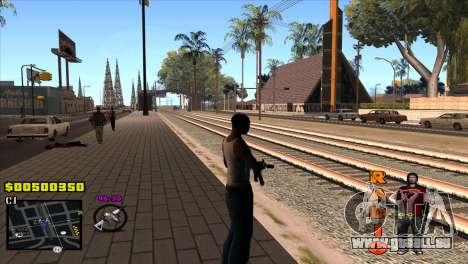 C-HUD Radio pour GTA San Andreas