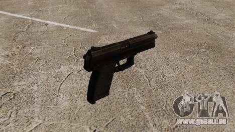 Pistolet semi-automatique H & K MK23 Socom pour GTA 4 secondes d'écran