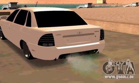 Lada Priora Sport für GTA San Andreas linke Ansicht