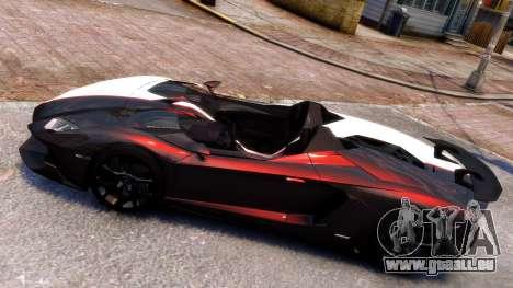 Lamborghini Aventador J 2012 Carbon pour GTA 4 est une gauche