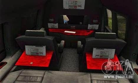 GMC Savana pour GTA San Andreas moteur