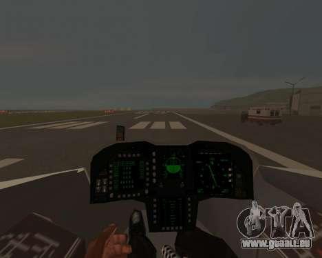 FA-37 Talon für GTA San Andreas Seitenansicht