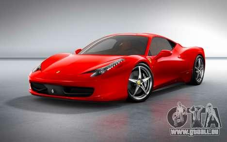 Sound eines Ferrari-Motors für GTA 4 Sekunden Bildschirm