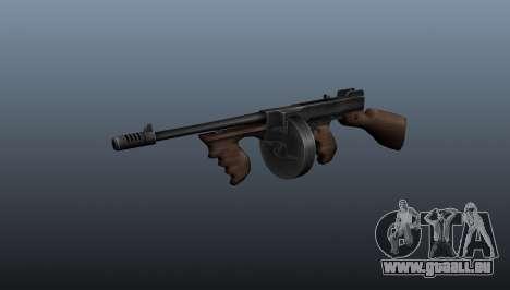 Pistolet mitrailleur Thompson M1928 pour GTA 4