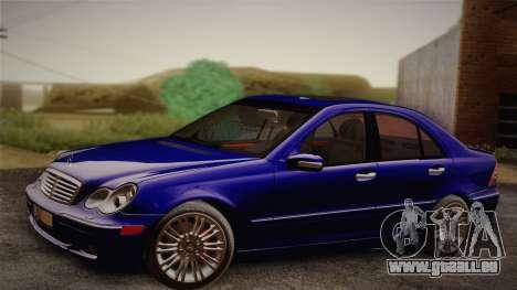 Mercedes-Benz C320 Elegance 2004 pour GTA San Andreas vue de droite