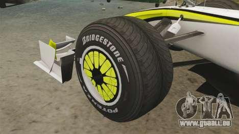 Brawn BGP 001 2009 pour GTA 4 est une vue de l'intérieur