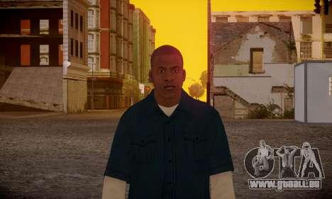 Franklin pour GTA San Andreas sixième écran