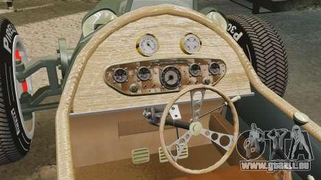 Auto Union Type C 1936 für GTA 4 Seitenansicht