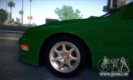 Honda Integra Normal Driving für GTA San Andreas Rückansicht
