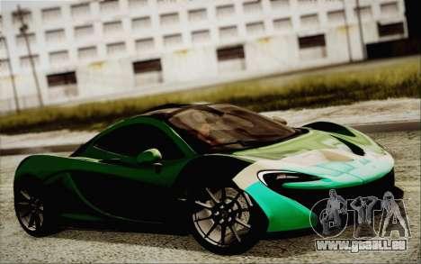 McLaren P1 2014 v2 für GTA San Andreas rechten Ansicht