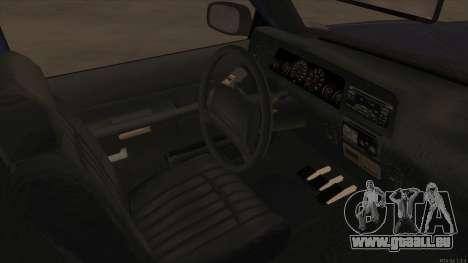 Bobcat HD from GTA 3 pour GTA San Andreas vue intérieure