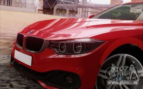 BMW 435i pour GTA San Andreas vue arrière