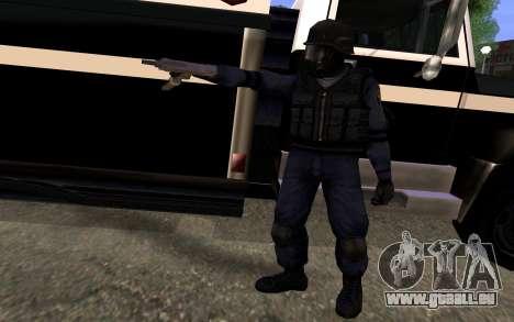 SWAT von Manhunt 2 für GTA San Andreas