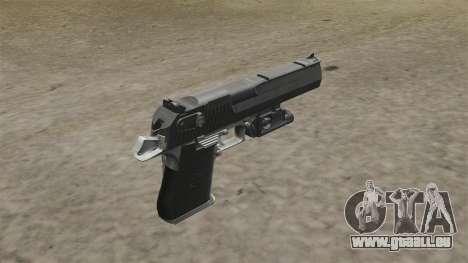 Desert Eagle Pistole MW2 für GTA 4 Sekunden Bildschirm