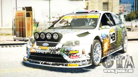Ford Focus RS Monster World Rally Team WRC für GTA 4
