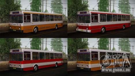 LIAZ peau 5256.00 3-Pack pour GTA San Andreas