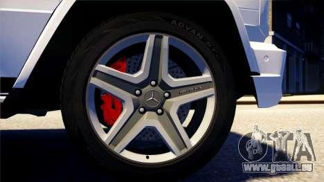 Mercedes-Benz G65 AMG 2013 für GTA 4 hinten links Ansicht
