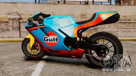 Ducati 848 Gulf pour GTA 4 est un droit