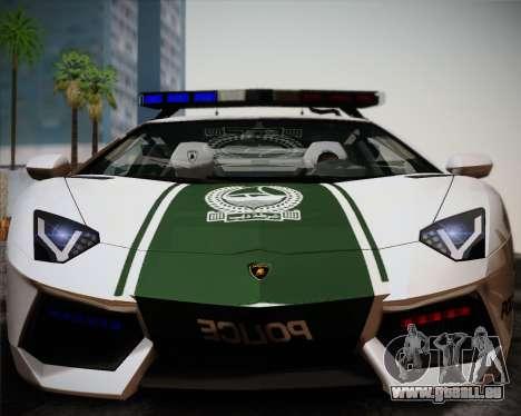 Lamborghini Aventador LP700-4 2012 RCPD V1.0 für GTA San Andreas linke Ansicht