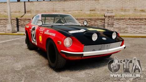 Datsun 240Z 1971 East African Safari für GTA 4