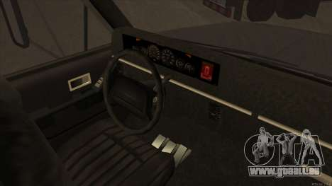 Yankee HD from GTA 3 pour GTA San Andreas vue arrière