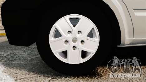 Ford Transit 2013 pour GTA 4 Vue arrière