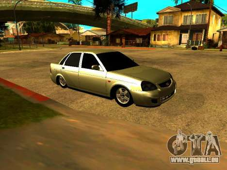 Lada 2170 Priora Gold pour GTA San Andreas