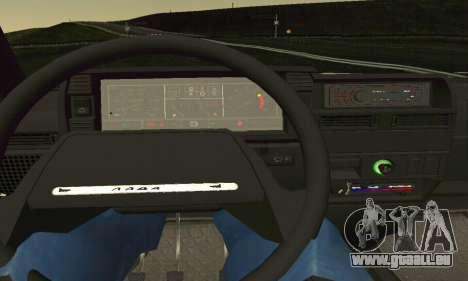 VAZ 2108 TAMR Style pour GTA San Andreas vue de côté