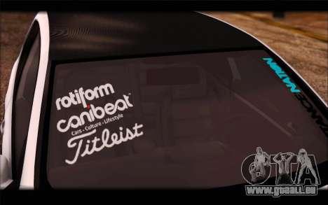 Volkswagen Golf MK5 Lowstance für GTA San Andreas zurück linke Ansicht