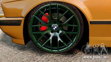 BMW M5 1995 für GTA 4 Rückansicht