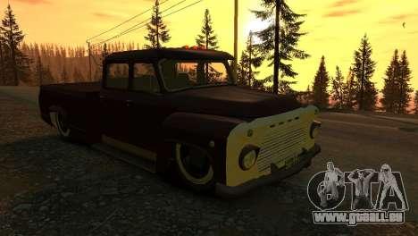 GAZ 53 für GTA 4 Innenansicht