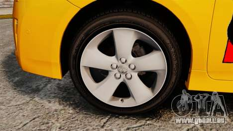 Toyota Prius 2011 Adelaide Taxi für GTA 4 Rückansicht